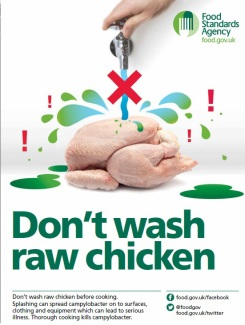 Don't wash chicken full image